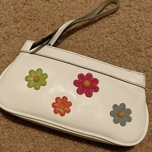 Minicci Flower Floral Wristlet